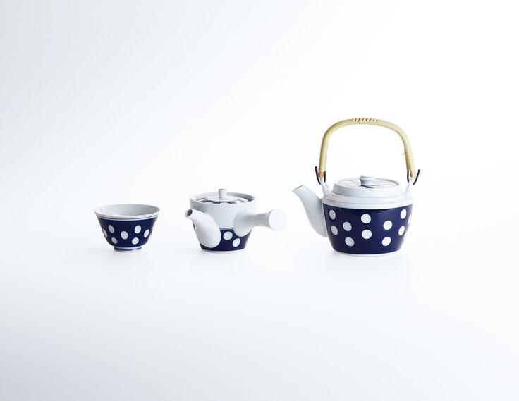 茶器(土瓶、急須、ゆのみ) [水玉 茶器]   受賞対象一覧   Good Design Award