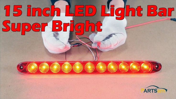 This is LED Light Bar 15 inch 11 LED Red light For Truck Review Video include: [0:08] a.LED Light Bar review [1:40] b.How to wiring the line? Amazon Store: h...