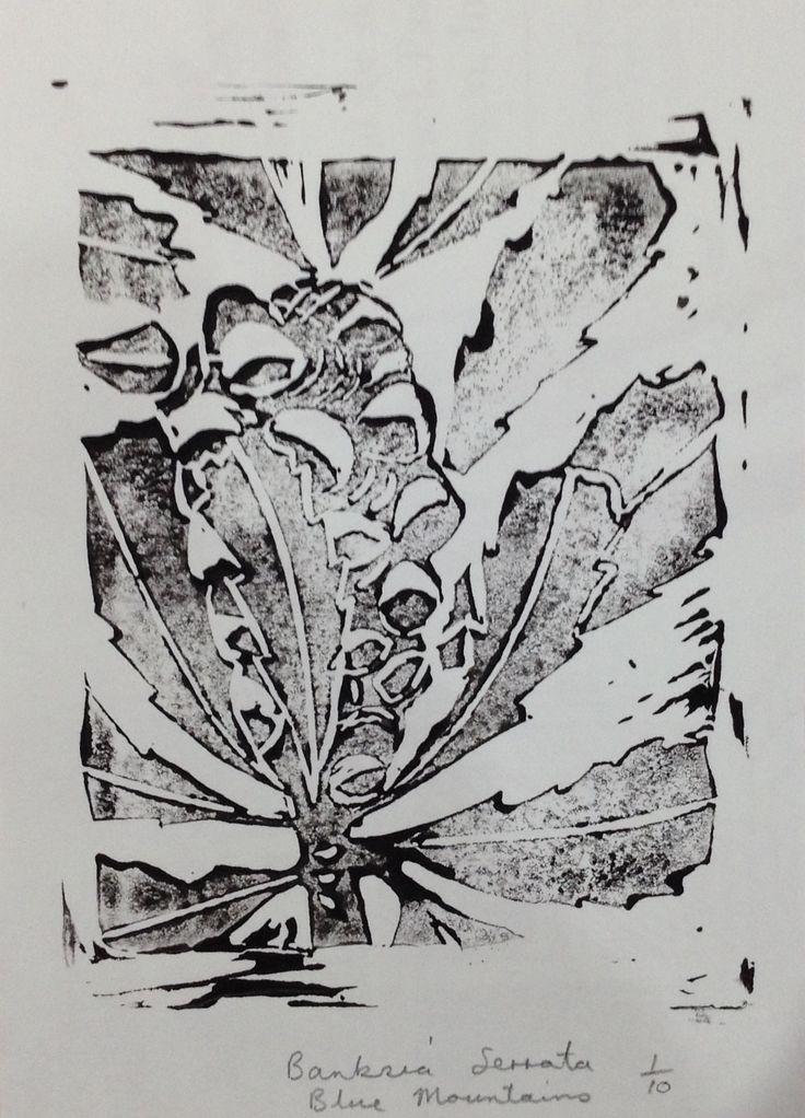 Banksia Serrata silicon cut. First attempt.