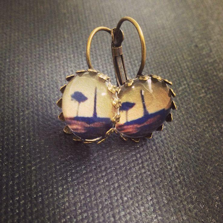 Bellbird Designs One Tree Hill earrings