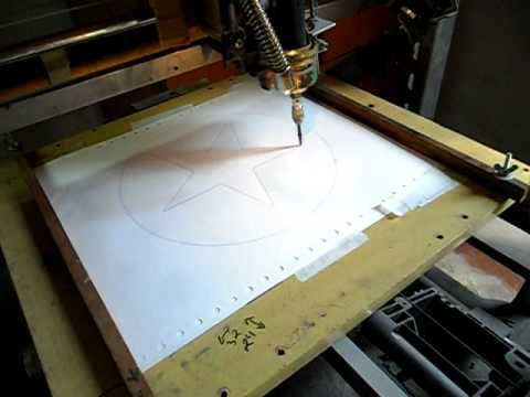 cnc material de sucata impressoras antigas rima,emilia - YouTube