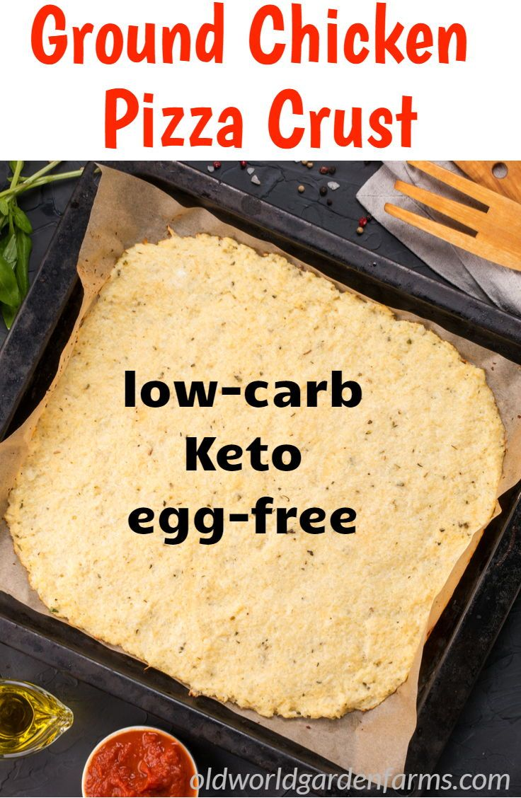 Chicken Crust Pizza Recipe – A Low Carb, High Protein Treat