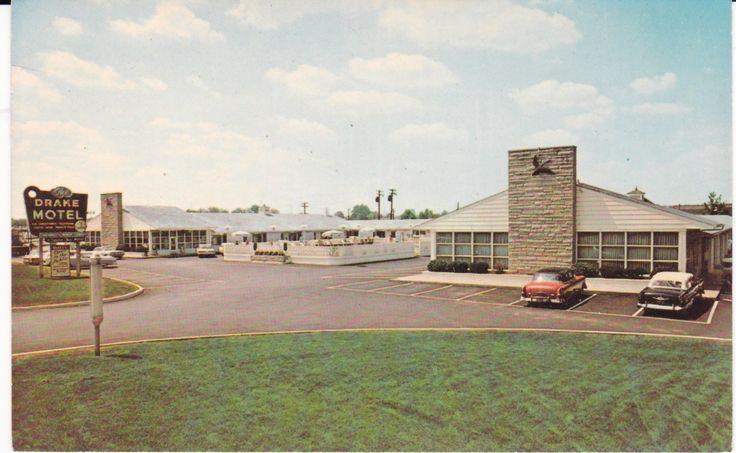 "Cincinnati OH ""The Drake Executive Inn Hotel"" Postcard Ohio *FREE US SHIP | eBay"