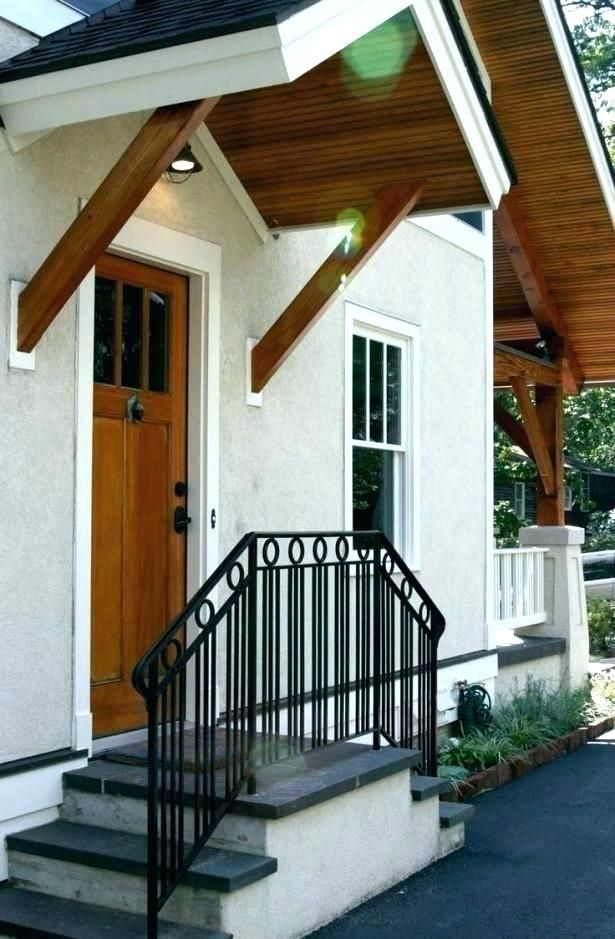 Front Steps Railing Ideas Porch Step Ideas Front Porch Step Ideas | Front Door Steps Designs | Simple Front Step | Single | Front Entryway | Decorative Entry Door | Garden