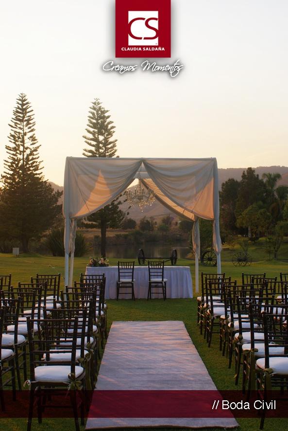 Ideas boda civil aire libre.