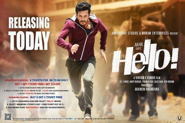 Hello 2017 Telugu Movie Real Hq Dvdscr 700Mb X264