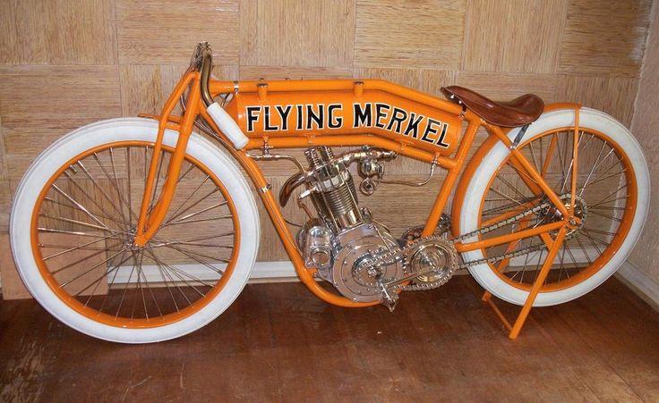 A very well restored Flying Merkel