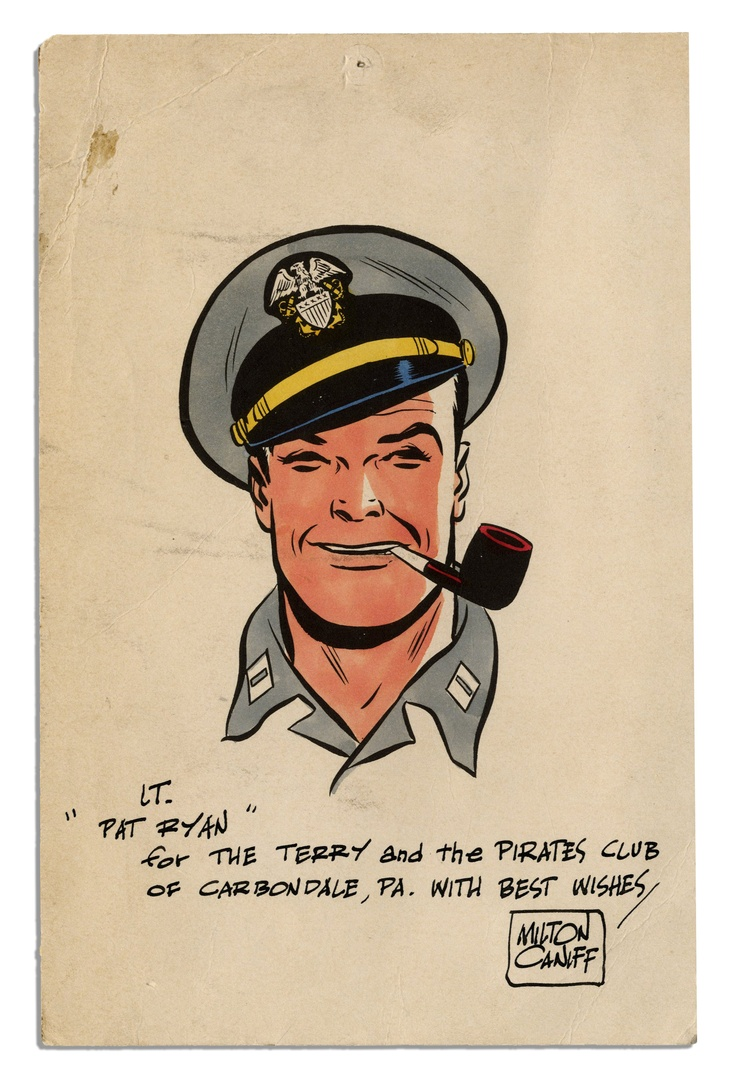 Lt Pat Ryan, from Terry and the Pirates by Milton Caniff