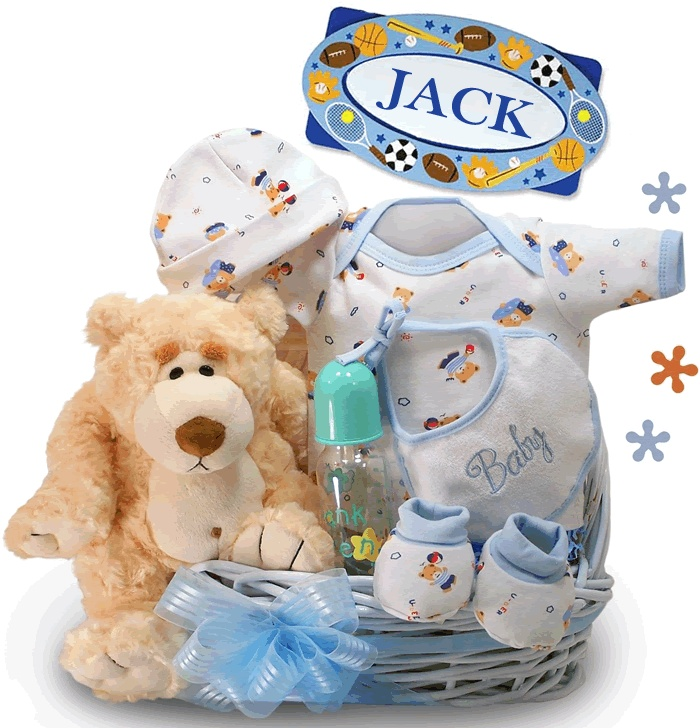 79 best baby shower gift baskets images on pinterest baby presents little miracle baby boy gift basket negle