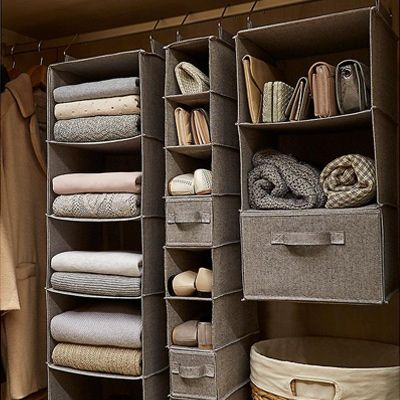 For many of our customers, their closet is at the top of the list of areas in need of organization and space saving. Here are some quick and easy strategies to immediately create space and add organization to your closet.
