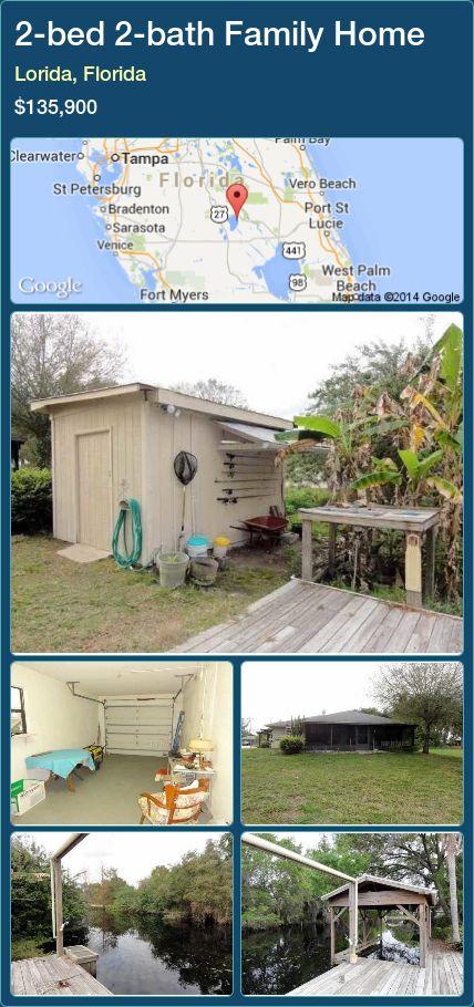 2-bed 2-bath Family Home in Lorida, Florida ►$135,900 #PropertyForSaleFlorida http://florida-magic.com/properties/27434-family-home-for-sale-in-lorida-florida-with-2-bedroom-2-bathroom