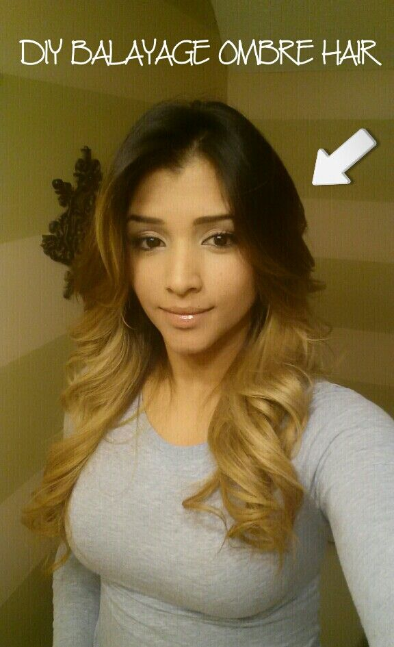 8 best extensions images on pinterest hairstyles kardashian my diy black and blonde ombre using highlighting cap and balayage technique ombre pmusecretfo Choice Image
