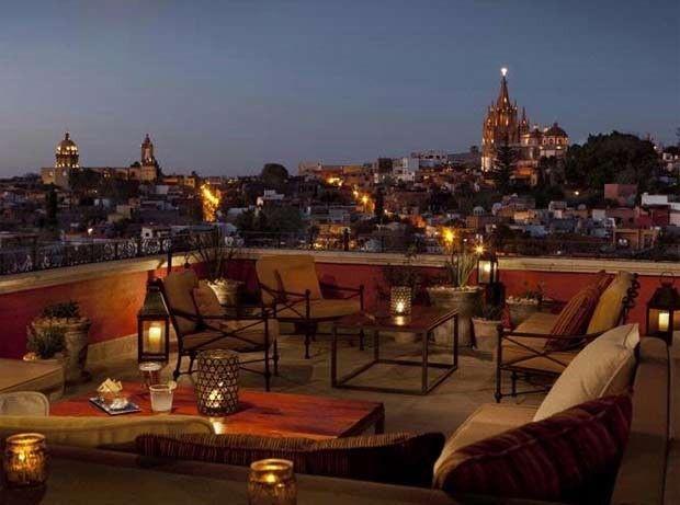 Os 10 bares mais incríveis do mundo em topos de hotéis