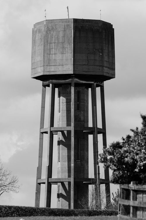 amaki09:  Water tower. (by Patchouli Memories)