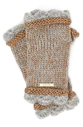 Laundry by Shelli Segal 'Baroque Romantics' Fingerless Gloves | Nordstrom