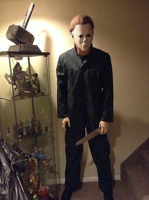 LIFE SIZE Michael Myers Halloween movie mask prop statue comic con horror figure