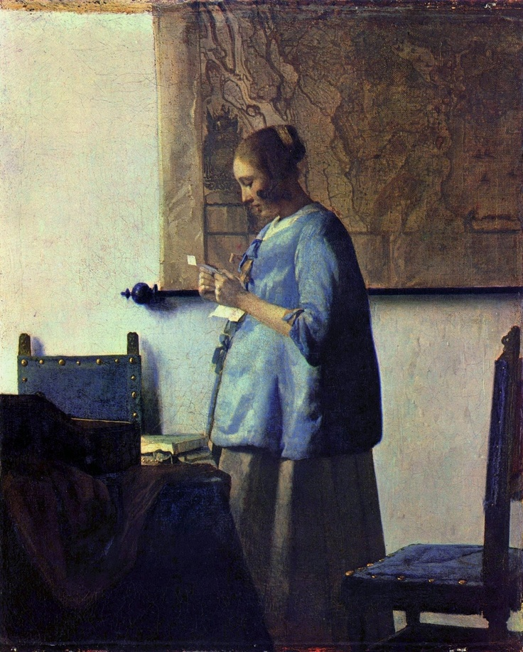 jan vermeer la femme lisant