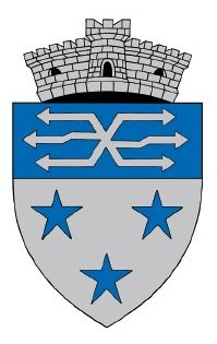 ROU SB Sadu CoA - Galeria de steme și steaguri ale județului Sibiu - Wikipedia