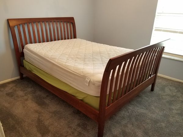 Ethan Allen American Impressions Sleigh Bed Double Full For Sale
