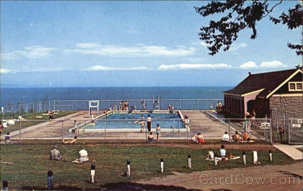 Fundy National Park, NB, a salt water pool overlooking the ocean!