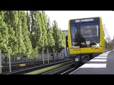 U-Bahn Berlin - Baureihe Ik: Zugtaufe und Jungfernfahrt von Icke