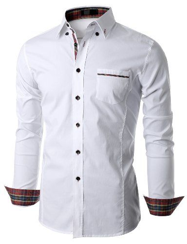 Doublju Mens Long Sleeve Button Down Dress Shirt Doublju,http://www.amazon.com/dp/B00I92FAEC/ref=cm_sw_r_pi_dp_rcGptb1Z0FW1B1TD