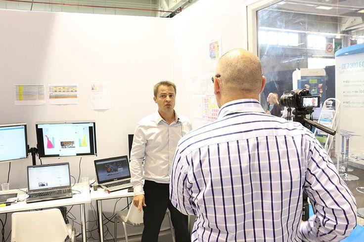 Bruno Fridlansky interviewe Vincent Lumaret : un reportage sur La Team Digitale pour Consonaute - #ECP14