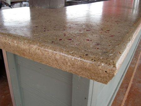 Concrete Countertops | Stamped Concrete Countertops