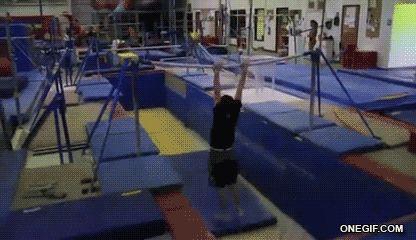 Gymnast Fail
