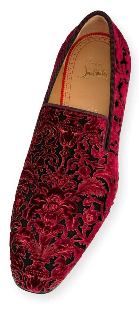 Opulence and style are trademarks of Shoe Wizard Christian Louboutin.