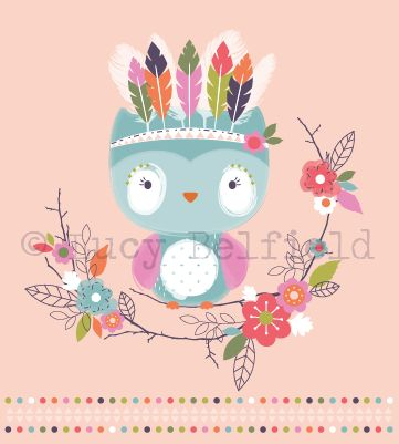 Lucy Belfield Design and Illustration: Another day another owl