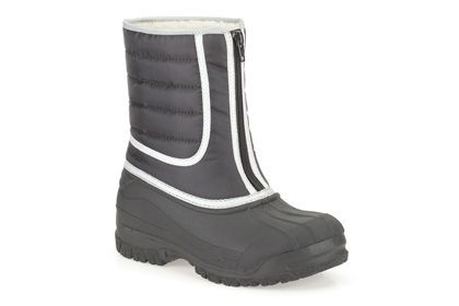 Boys Wellies - Snow Hike in Black Synthetic from Clarks shoes