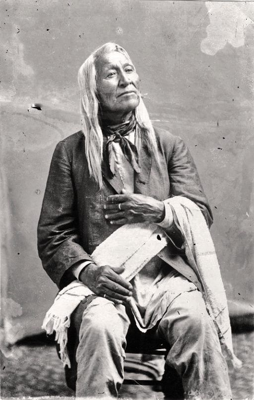 'Shoshone' Chief Washakie. Late 1800's. Wyoming - Dunway Enterprises - http://dunway.us/