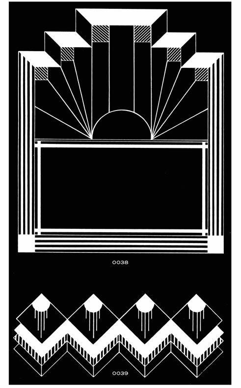 17 best images about art deco on pinterest dovers art for Art deco design ideas