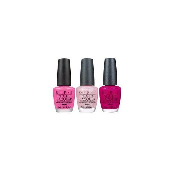Opi Nail Polish Set (250 DKK) ❤ liked on Polyvore featuring beauty products, nail care, nail polish, opi nail polish, opi, shiny nail polish and opi nail lacquer