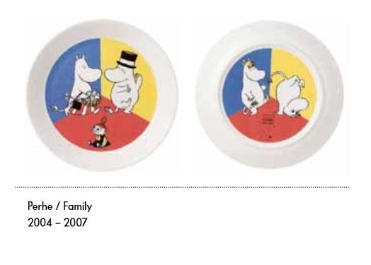 Perhe ruokalautanen (2puoleisella kuvalla)