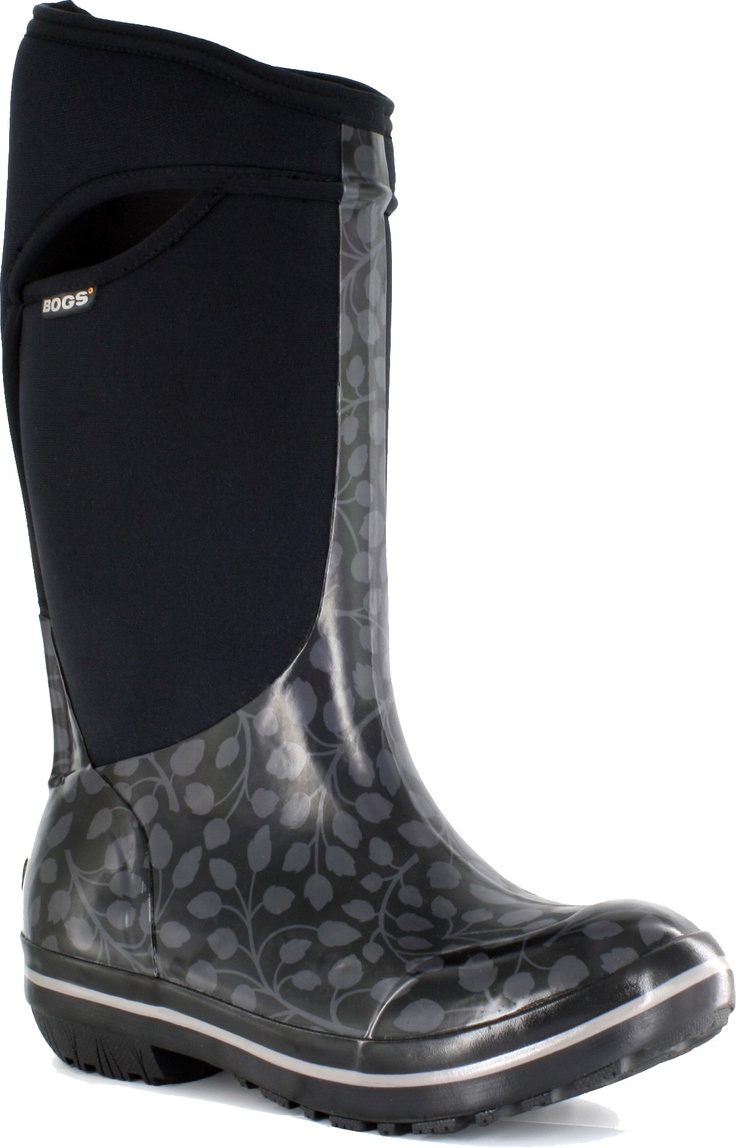 Bogs Plimsoll Tall Leaf Insulated Rain Boots - Women's - Looks like lots of rain this winter.