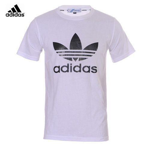 Camisetas Adidas Hombre PX95Camisetas Adidas Hombre Redondo Blanco Logo y Maravilloso