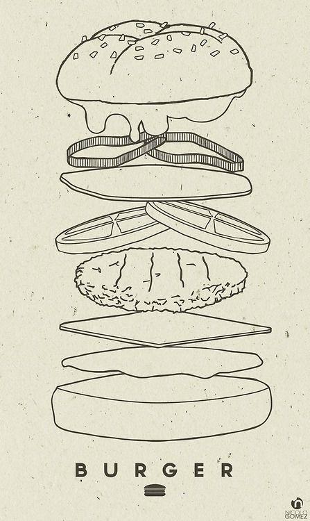 Burger by: Nicolo Gomez