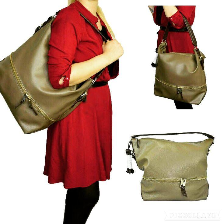 Brown Tote Bag