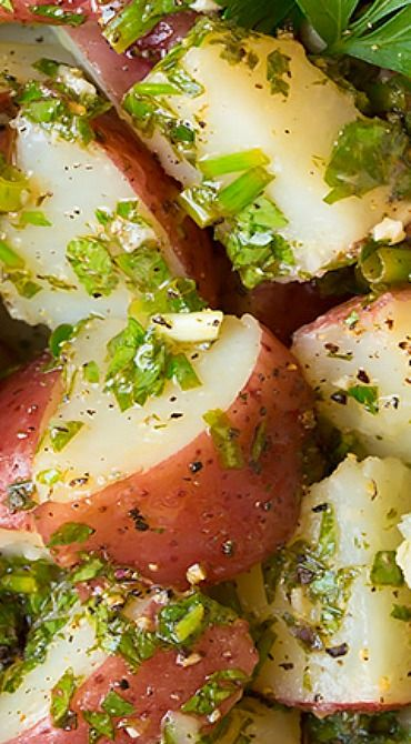 Garlic-Herb Potato Salad