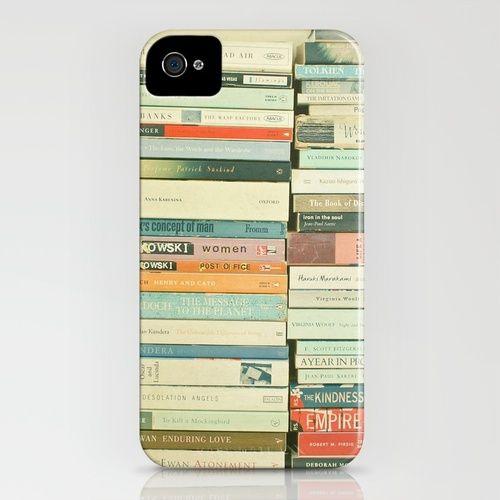 Bookworm iPhone case.