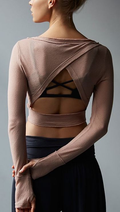Cut out ballet top