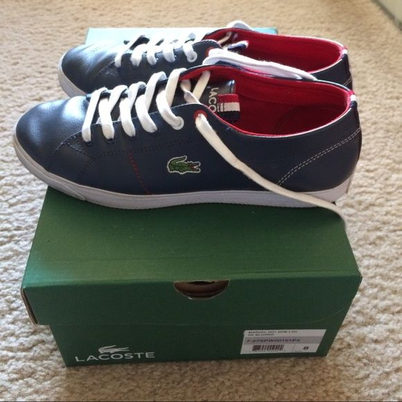 Lacoste Women leather sneaker Good condition - pls see pics for details Lacoste Shoes Sneakers