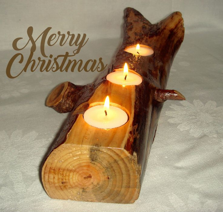 Christmas gift wooden. Rustic tea light candle holder. Gift for her.Gift for him. Anniversary gift. Holiday gift. Wedding gift. Rustic home decor. Reclaimed wood USD 23.00