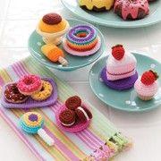 Crochet cakes and dessert patterns