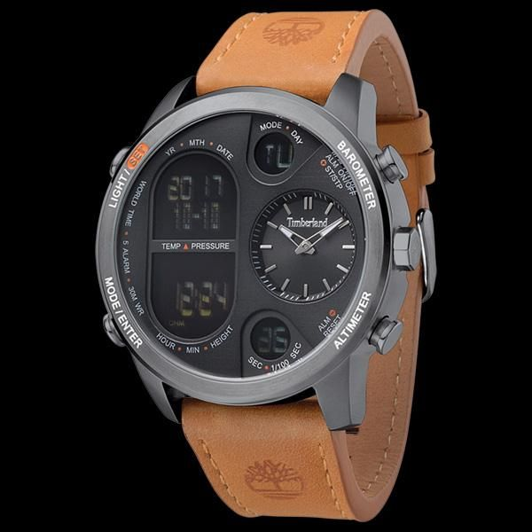 Arrestar buque de vapor Incorrecto  TIMBERLAND HT4 GUNMETAL BLACK DIAL TAN LEATHER WATCH | Timberland watch,  Leather watch, Tan leather