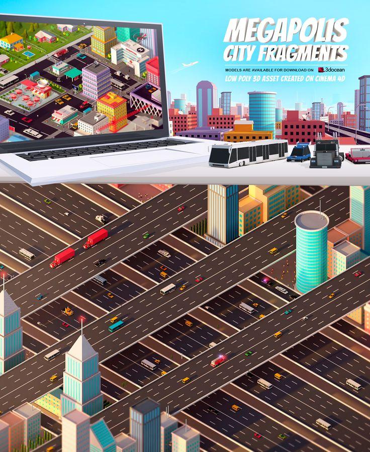 Megapolis on Behance