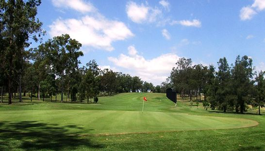 """Located on the hill with """"Million Dollar"""" views, Gatton Jubilee Golf Club is a beautiful course to enjoy 18 holes for two players. This offer includes a shared motorised cart and a refreshing drink each after your rounds. Normally $90, today just $39. Save 57% on this offer! #golf #golfqld"""