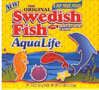 * Swedish Fish AquaLife 24 - 1.8 oz. Bags